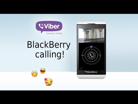 Video Llamada de Viber en BlackBerry 10.3.1 | Free Video Call Test