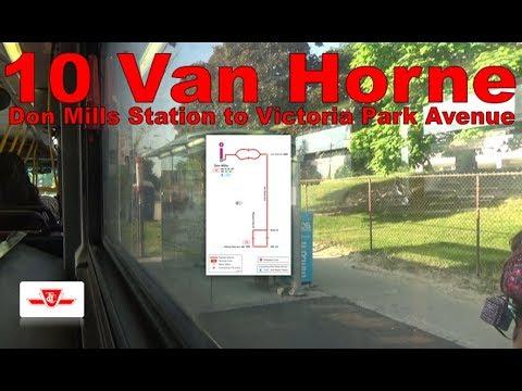 10 Van Horne - TTC 2011 Orion VII EPA10 8316 (Don Mills Station to Victoria Park Avenue)