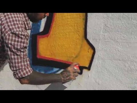 How to Draw a T | Graffiti