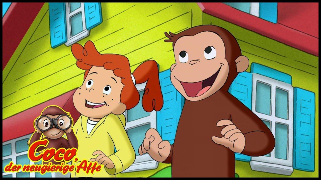Coco der Neugierige Affe 🐵Die Chamäleon-Einfang-Aktion 🐵Ganze Folgen Staffel 5🐵Cartoons für Kinder
