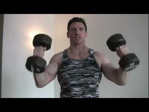 Best Shoulder Press Workout and Power Clean and Press Modified for Bodybuilding