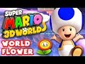 Super Mario 3d World World Flower 100 Nintendo Wii U Gamepla