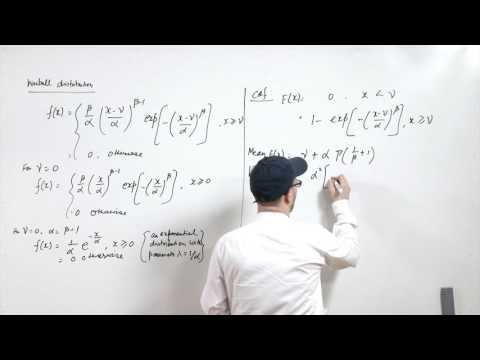 Lecture 09 - Continuous distribution functions and empirical distribution functions