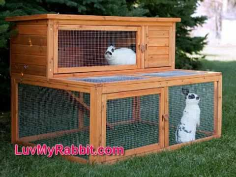 Rabbit Outdoor Cages and Hutches