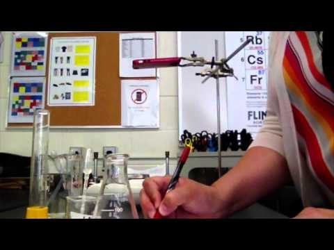 Titration of Vinegar to Determine % by Mass of Acetic Acid