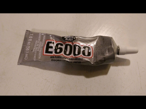 Personal Review Of The E6000 Industrial Strength Adhesive Glue