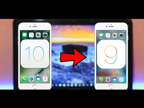 How To Downgrade/Uninstall iOS 10 to iOS 9.3.5 Without Losing Data on iPhone, iPad, iPod!
