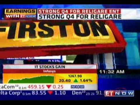 ETNOW - Mr. Sunil Godhwani on Religare's plan to simplify the corporate structure