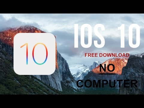 How To Install iOS 10 Beta FREE No Computer - iPhone, iPad & iPod Touch