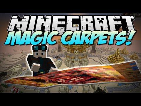 Minecraft | MAGIC CARPET! (Fly like Aladdin!) | Mod Showcase [1.5.2]