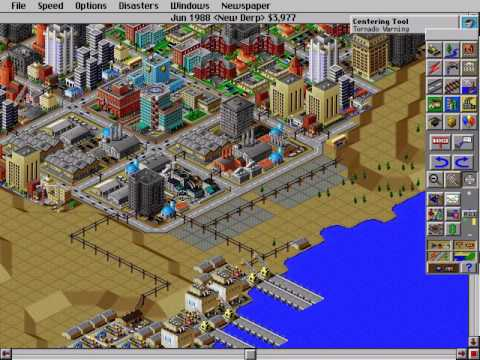 SimCity 2000 - 95k city in 116 years, high quality of life