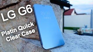 LG G6 Platin Quick Clear Case Handyhülle mit gewissen Vorteilen für den Nutzer