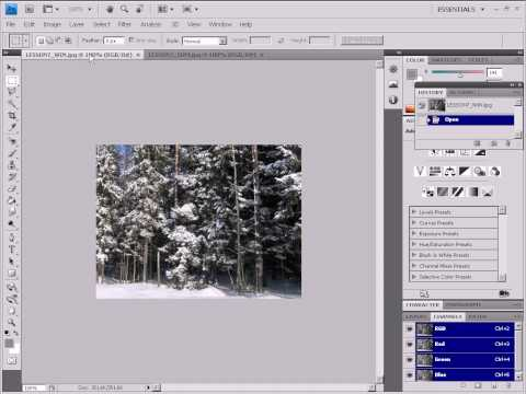Merging a Set of Images in Photoshop (7/29)