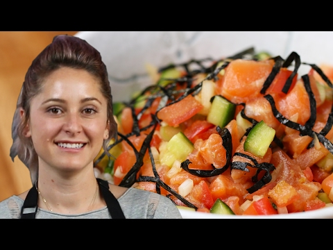 Salmon Poke Bowl By Brooke Williamson