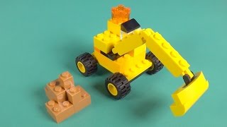 How to build a Lego Beach House - Lego Classic Blue