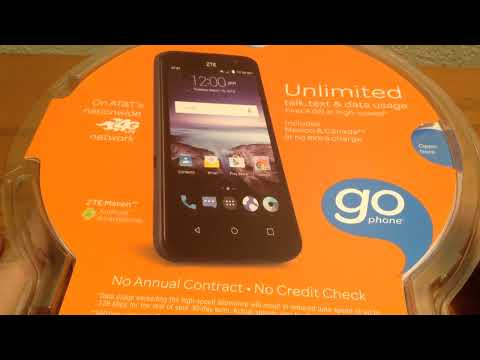 Unboxing: ZTE Maven (AT&T GoPhone)