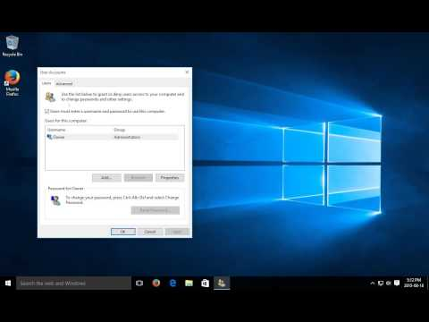 Windows 10 - Automatic Login - Automatic Sign In - Sign In Automatically