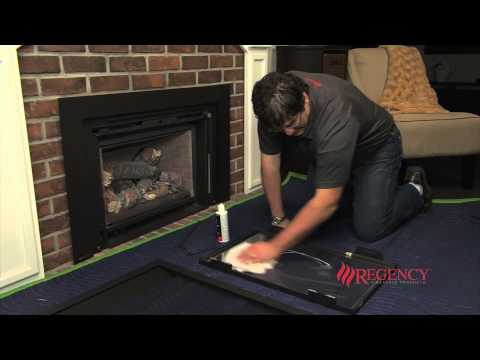 How to Clean the Glass on Regency LRI & HRI Gas Inserts with Vignette Faceplate