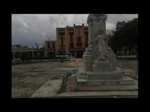 American Tourist in Holguin, Cuba visits Iglesia San Jose, SI Catedral San Isidoro, Holguin Parques