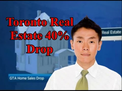 Toronto Real Estate: 40% Drop in Sales and Canadian spending in US Real Estate