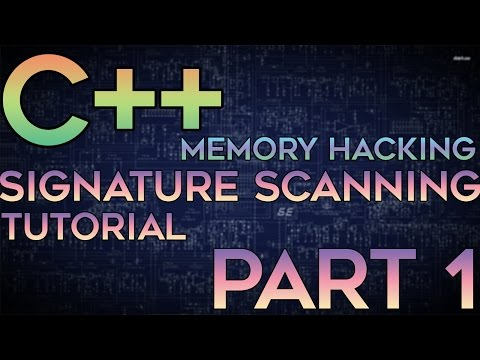 C/C++ Memory Hacking — External Signature/Pattern Scanning Tutorial