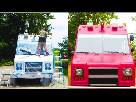 My Food Truck Renovation Start-To-Finish