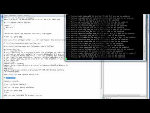 CentOS PHP Update