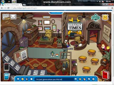Club Penguin Interview to get on Captain Rockhopper's island