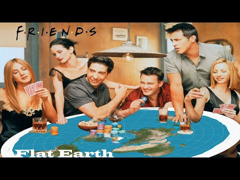 Flat Earth in TV Shows: Friends Ross and Phoebe Argue Science & Flat Earth