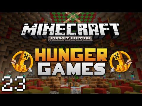 Minecraft: Pocket Edition Hunger Games #23   No Food Challenge