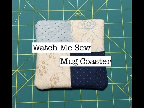 Watch Me Sew: Mug Coaster