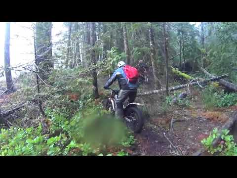 Messing about in the woods Enduro. Dec 2017 POV
