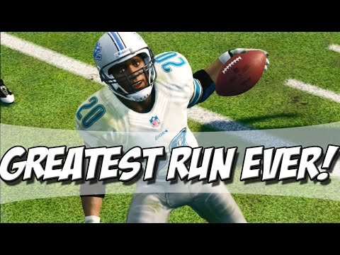 Madden 25 Ultimate Team - BARRY SANDERS GREATEST RUN EVER! - MUT 25