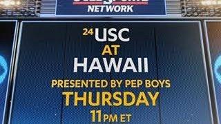 USC at Hawaii promo   CBS Sports
