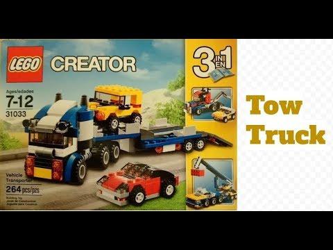 Lego Creator 31033  vehicle transporter Pt.3