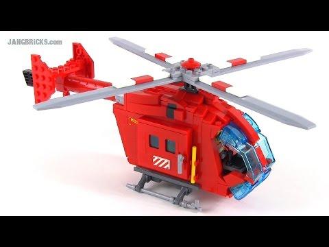 LEGO City custom Medevac NOTAR-style Helicopter MOC