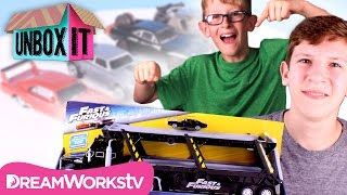 Street Scenes Highway Havoc and Other Fast & Furious Toys   Universal Pictures presents UNBOX IT