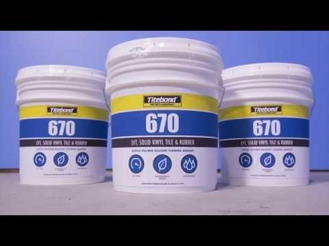 Titebond 670 Resilient Flooring Adhesive