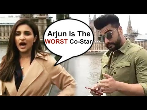 Arjun Kapoor PRANK On Parineeti Chopra On Namaste England Shoot