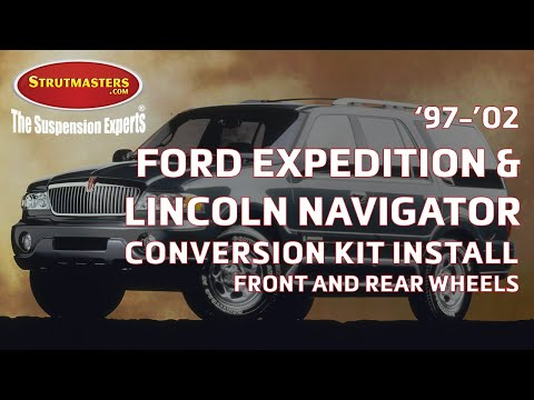 How To Fix The Rear And Front Suspension On A Lincoln Navigator Or Ford Expedition (1997-2002)