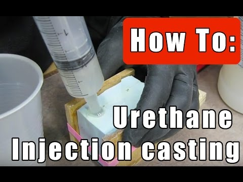 𝐈𝐍𝐉𝐄𝐂𝐓𝐈𝐎𝐍 𝐂𝐀𝐒𝐓 𝐔𝐑𝐄𝐓𝐇𝐀𝐍𝐄 𝐑𝐄𝐒𝐈𝐍: Make Mold & form clear bubble free cold shoe camera mounts :part 2