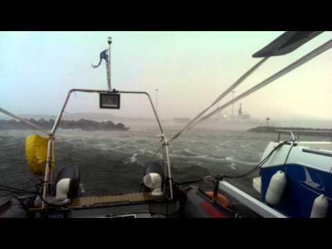 Storm Gertrude, Baltasound,Unst  Quickstep