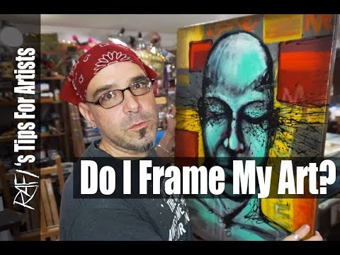 Framing And Finishing My Art Tips For Artists