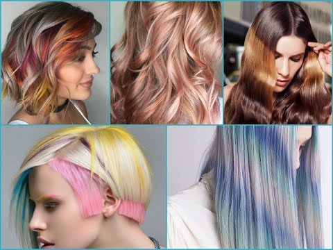 2018 Summer Hair Color Trends and Beautiful Ideas