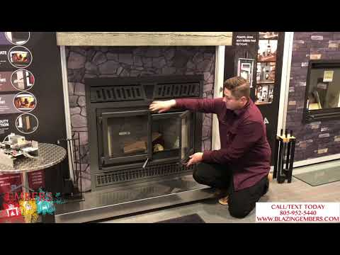Osburn Horizon Wood burning Fireplace Large Product review