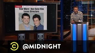 Extended - Luke, I Am Your HR Department - Uncensored - @midnight with Chris Hardwick