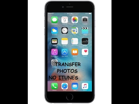 How to import Iphone photos/videos to pc easily without itunes (2016)