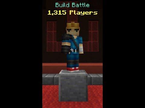 Minecraft: build battle