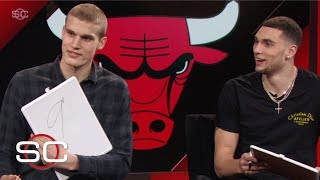 Zach LaVine, Lauri Markkanen grade their best dunks of the season | SportsCenter