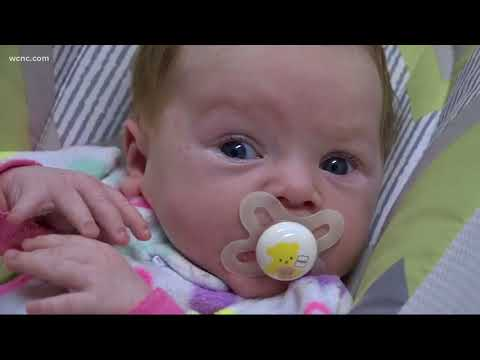 Severe acid reflux causes baby to turn blue